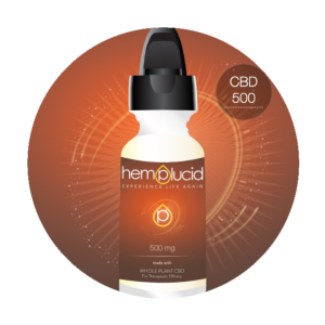 CBD 500 mg (30ml Hemplucid)