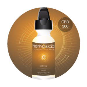 CBD 300 mg (30ml Hemplucid)